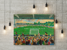 gallagher stadium canvas a2 size